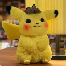 28cm Detective Pikachu Pokemon Plush Toy Video Game Plush Nintendo Plush Soft Pl - $148.05