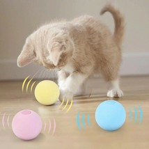 Smart Cat Toys Interactive Ball Catnip Training Pet Playing Ball Squeakily - $17.89
