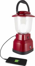 Ge Enbrighten Jas29923 Led Lantern, Battery Operated, Usb Charging, Red ... - $41.04