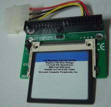 "128 Megabyte SSD Replace Vintage 3.5"" IDE Drives with 40 PIN IDE SSD Card - $24.95"