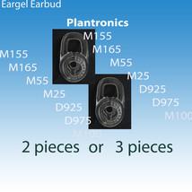 Standard Earbuds Eargels  for Plantronics m165 m25 m55 D925 D975 m155 m1100 - $3.94+