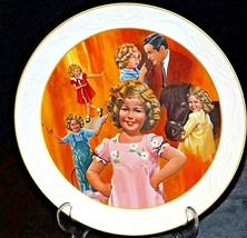"""The Shirley Temple Collection Commemorative Plate """"Curly Top"""" AA20-CP2269 Vinta"""