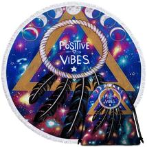 Positive Vibes Dream Catcher Beach Towel - $12.32+