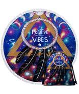 Positive Vibes Dream Catcher Beach Towel - $12.32+
