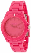 EOS New York Unisex Marksman Plastic Pink Quartz Analog Watch #359SPNK NIB