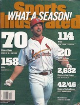 Sports Illustrated Magazine October 5, 1998 What a Season! McGwire's 70th - $4.99