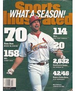 Sports Illustrated Magazine October 5, 1998 What a Season! McGwire's 70th - $2.50