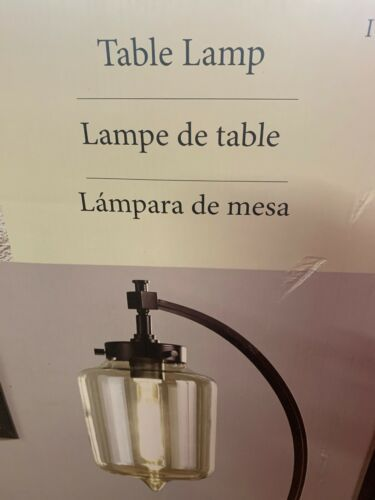 New1 Uttermost Bronze Metal LED Table Lamp m.b