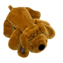 "Dan Dee Collectors Choice Fluffy Floppy plush Hound DOG ~ Puppy 24"" BROWN - $24.70"