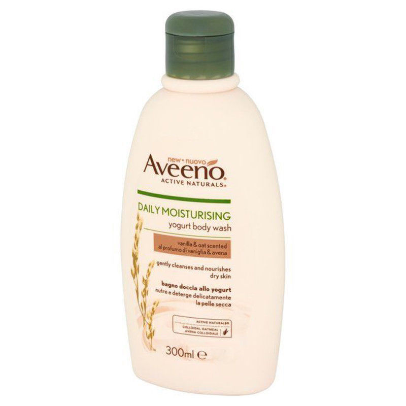 Primary image for Aveeno Daily Moisturising Yogurt Body Wash Vanilla & Oat 300ml