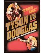 MIKE TYSON vs BUSTER DOUGLAS 8X10 PHOTO BOXING POSTER PICTURE - $4.94
