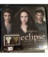 NEW TWILIGHT SAGA ECLIPSE Vampire Movie Board Game with Collectible Meta... - £7.29 GBP