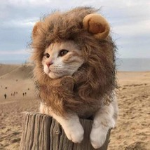 Lion King Mane Halloween Wig costume for Pets - $30.00
