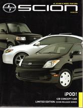 Scion Limited Edition 2006 Brochure - $2.50