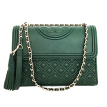 Tory Burch Fleming Convertible Chain Large Shoulder Bag - Norwood - $368.00