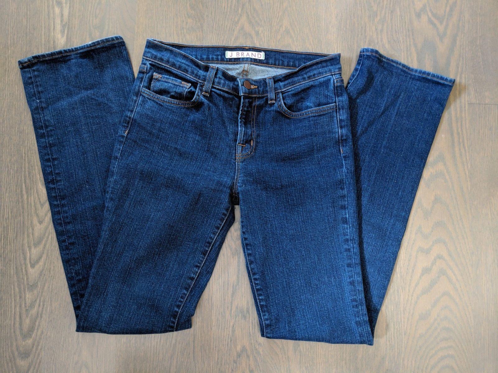 J Brand 28 Aruba Denim Skinny Slim Stretch Medium Wash Jeans Womens Pants image 2