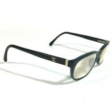 Chanel Blue Black Rectangular Cats Eye Eyeglass Frames Slender 3236-Q c.1390 135 - $130.90