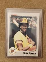 1983 Fleer Tony Gwynn Rookie Card (RC) (OC) - $7.25