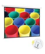 Pyle PRJELMT76 Motorized Projector Screen (72) - $138.30