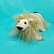 "Lion Hand Puppet Plush Stuffed Animal Full Body Brown King of Beasts 9"" ... - $15.83"