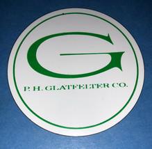 P. H. GLATFELTER PAPER COMPANY, SPRING GROVE, PA. REFRIGERATOR MAGNET - $4.99