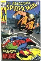 Amazing Spider-Man #81 1970 John Romita- Kangaroo F/VF - $54.63