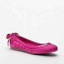 Coach Women's Pink Ronda Ballet Flats Shoes size 9 M - $69.99