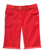 Cherry Baby Gymboree NWT Red Rhinestone Shorts Adj Waist 7 - $11.99