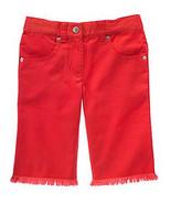 Cherry Baby Gymboree NWT Red Rhinestone Shorts Adj Waist 7