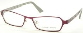 New Prodesign Denmark 1229 4121 Matte Medium Ruby Eyeglasses Frame 53-16-137mm - $59.39