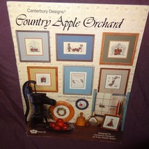Country Apple Orchard Cross Stitch Pattern Leaflet Book Canterbury Desig... - $11.99