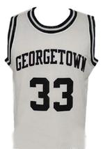 Patrick Ewing #33 College Basketball Jersey Sewn White Any Size image 3