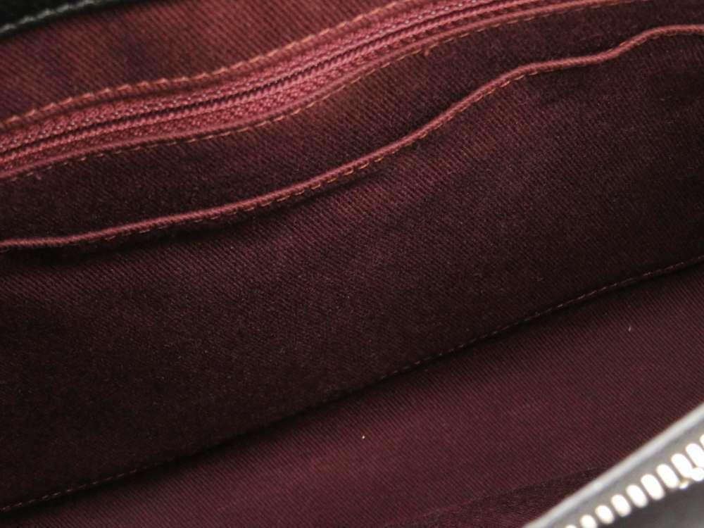 CHANEL Handbag Caviar Leather Black Neo Executive 2Way A69930 Italy Authentic