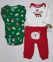 Carter's Christmas Outfit For Boys 6 Months Santa Reindeer  - $12.00