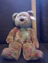 TY BEANIE BUDDY - SPECKLES THE BEAR -  RARE TEDDY BEAR 2001 (13 inch) - $5.93
