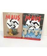 MAUS A Survivors Tale Comic Books Vol 1 & 2 Art Spiegelman PB WWII Holoc... - $25.00