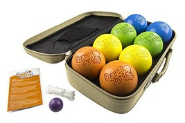 SeaTurtle Sports Luxury Beach Bocce Ball Crack and Rust Proof Set - $137.27
