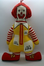 "Vintage Ronald McDonald Doll Plush Toy about 14"" McDonald's Advertising - $14.50"