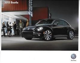 2015 Volkswagen BEETLE brochure catalog US 15 2nd Edition VW 1.8T TDI R-... - $8.00