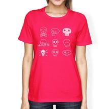 Skulls Womens Hot Pink Shirt - $14.99+