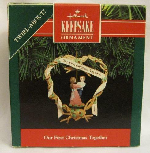 Hallmark Our First Christmas Together Christmas Ornament - QX4919 - 1991