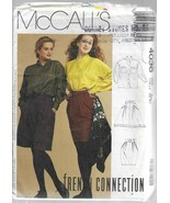 Vintage  McCall's French Connection Pattern #4036-Shirt-Skirt-Shorts  Si... - $6.76