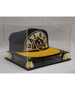 Pro Baseball Cap/Hat Display Case Holder Stand, UV Protection with Mirro... - $35.48