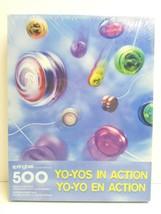 Yo Yos In Action 500 Pc VTG 1999 Springbok Hallmark Puzzle Family Fun Gi... - $26.72