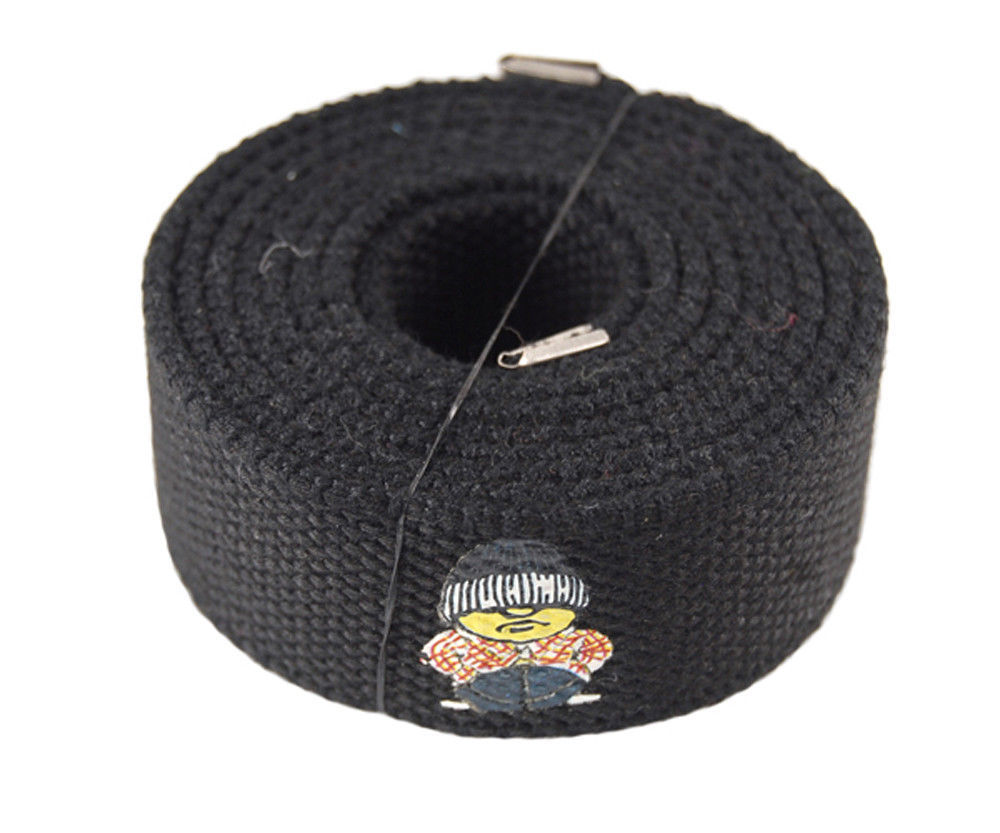 "Men/'s /""Cholo/"" Military Canvas Web Belt /& Buckle Waist Straps 48,54,60,72 inches"