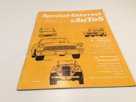 1970 Special-Interest Autos by Hemmings Motor News Nov/Dec - $9.99