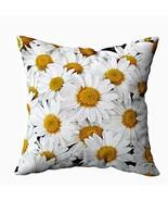 Musesh Daisies Cushions Case Throw Pillow Cover for Sofa Home Bedding De... - $9.53