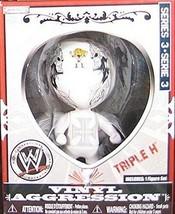 Triple H 2008 WWE Vinyl Aggression Figure NIB Series 3 JAKKS Pacific Tri... - $14.84