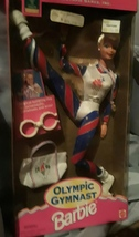 Collection 1996 Olympic gymnast Barbie Doll Atlanta - $45.00