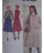8625 Non Tagliati Vintage Simplicity Cartamodello Misses Gonna Blusa Gil... - $6.29
